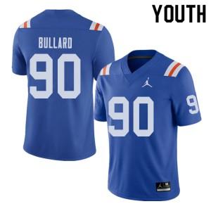 Jordan Brand Youth #90 Jonathan Bullard Florida Gators Throwback Alternate College Football Jerseys 641594-945