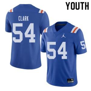 Jordan Brand Youth #54 Khairi Clark Florida Gators Throwback Alternate College Football Jerseys 781238-223