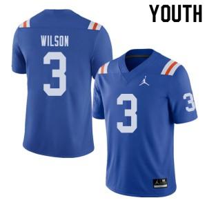 Jordan Brand Youth #3 Marco Wilson Florida Gators Throwback Alternate College Football Jerseys 193441-430