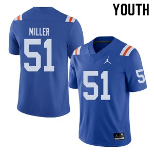 Jordan Brand Youth #51 Ventrell Miller Florida Gators Throwback Alternate College Football Jerseys 238843-945