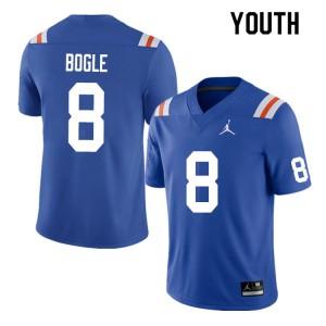 Youth #8 Khris Bogle Florida Gators College Football Jerseys Throwback 576853-641