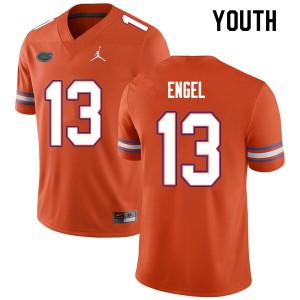 Youth #13 Kyle Engel Florida Gators College Football Jerseys Orange 116412-885