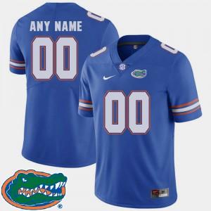 Men UF #00 College Football 2018 SEC Custom Jerseys Royal 254761-991