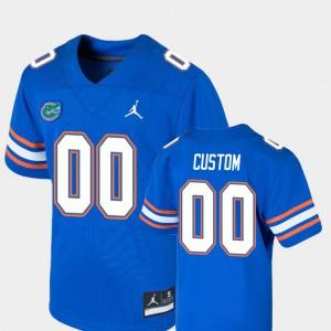 Youth Florida Gator #00 Game College Football Customized Jerseys Royal 772572-835